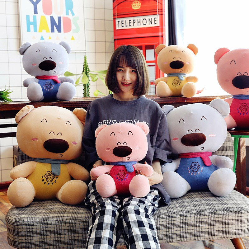 gấu bông đồ chơi dễ thương cho bé