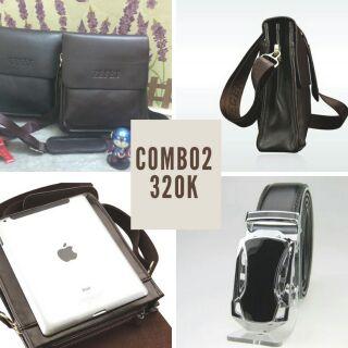 Combo2 túi xách + dây nịt 320k
