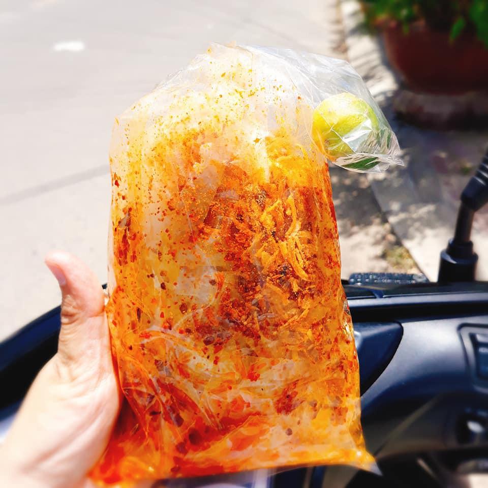 Bánh tráng trộn tắc tây ninh
