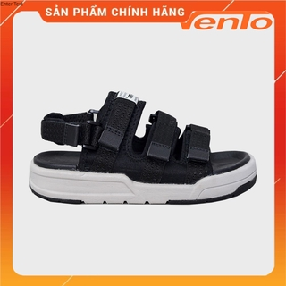 Giày Sandal Vento Nam Nữ - NV1001 Đen Ghi thumbnail