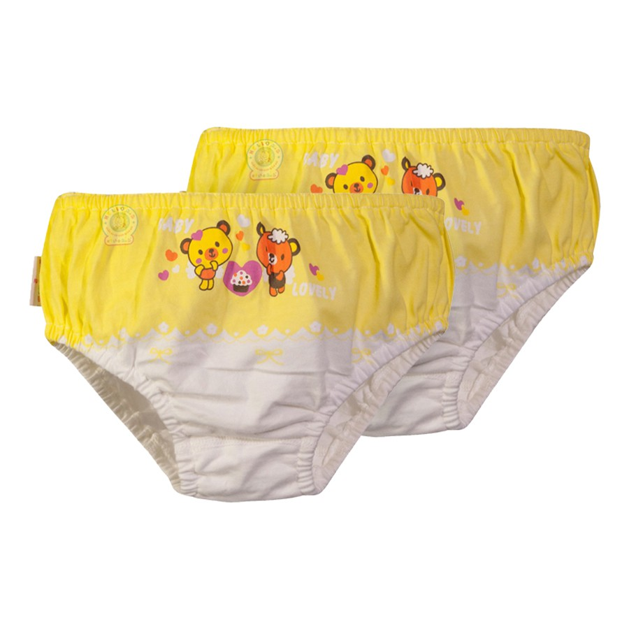 Bộ 2 Quần Sịp bé gái QL0089 màu vàng - HELLO B&B - 3500194 , 712443250 , 322_712443250 , 47000 , Bo-2-Quan-Sip-be-gai-QL0089-mau-vang-HELLO-BB-322_712443250 , shopee.vn , Bộ 2 Quần Sịp bé gái QL0089 màu vàng - HELLO B&B