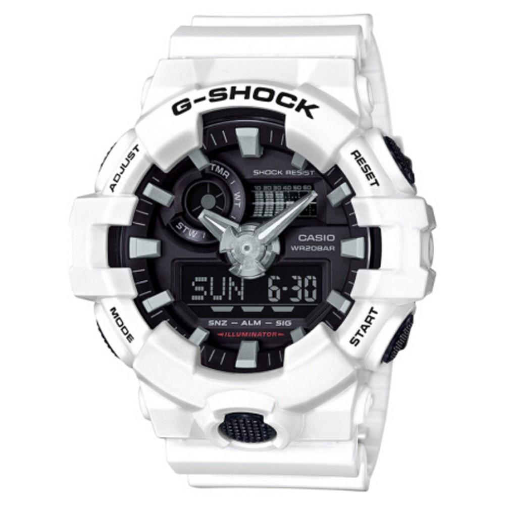 แท้ Casio G-Shock Wrist Watch Men Sport Quartz Watches GA-700-7A แท้ นาฬิกาคู่ นาฬิกาผู้ชาย ผู้หญิง นาฬิ casio cmg