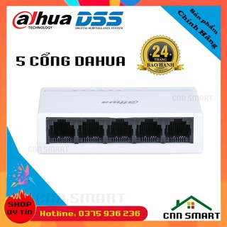 Bộ chia mạng Switch 5 cổng Dahua DSS 5 8 cổng TotoLink Tốc Độ 100Mb – S505G, S808G Gigabit tốc độ 1000M-Chính hãng BH24T