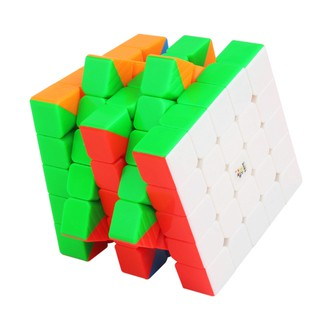 5×5 6.25CM Smooth Fluorescent 6 Colors Magnetic Magic Cube