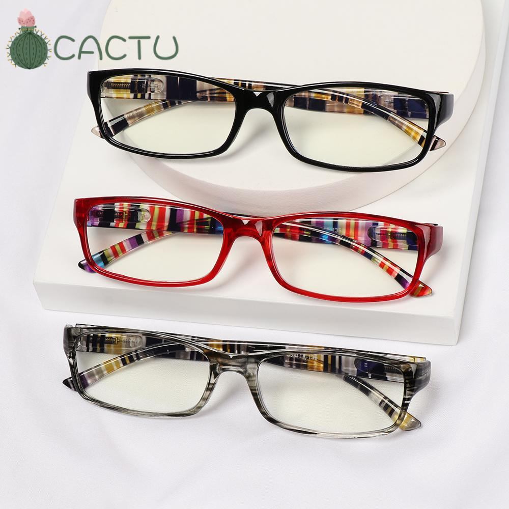 🌵CACTU🌵 Women Men Anti-Blue Light Eyeglasses Elegant Eye Protection Reading Glasses Portable Fashion Comfortable Vintage Ultra Light Frame/Multicolor