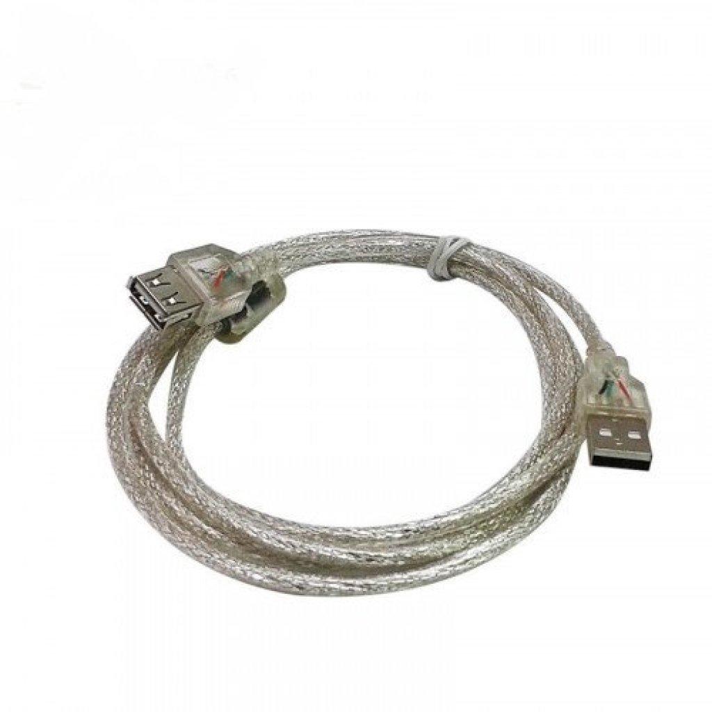 เคสนุ่ม สายusb ต่อยาว Extention cable AM AF 3m v2.0 ฟรี USB สีใสคสนุ่ม สายusb ต่อยาว Extention cable AM AF 3m v2.0 ฟรี U