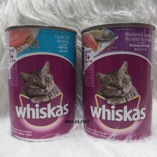 Pate cho mèo trưởng thành pate Whiskas 400gr thumbnail