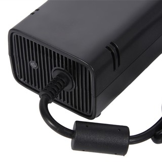 QYVN HOT AC Brick Adapter Power Supply for Xbox 360 Slim UK Mains Charger Cable