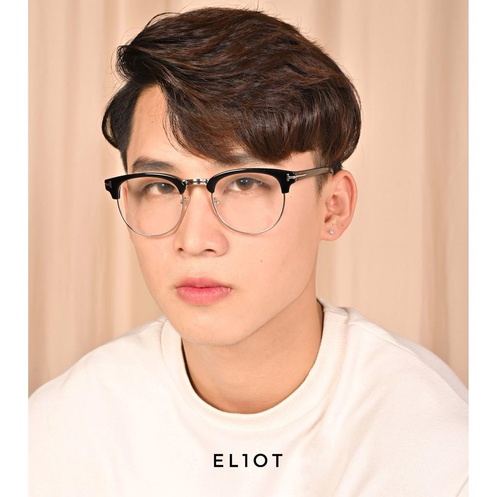 Gọng kính cận ClubMaster kính nửa gọng thời trang U