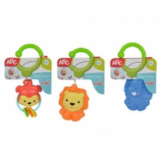 Xúc Xắc Hình Thú Có Móc Treo Simba Toys 104010024 (Voi, Sư Tử, Khỉ)