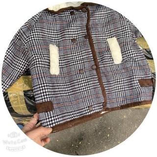 FRESHIP-HÀNG QUẢNG CHÂU sale áo khoác dạ lông cho bé