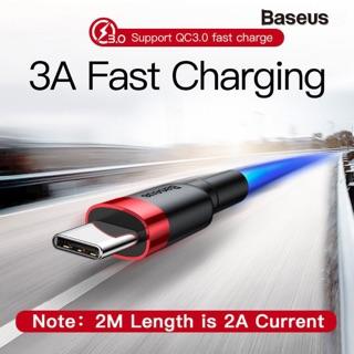 [ Cáp chân Android - type C / 1m - 2m ] Chính hãng Baseus Cafule dây sạc nhanh 3.0 Cho Samsung xiaomi huawei oppo nokia