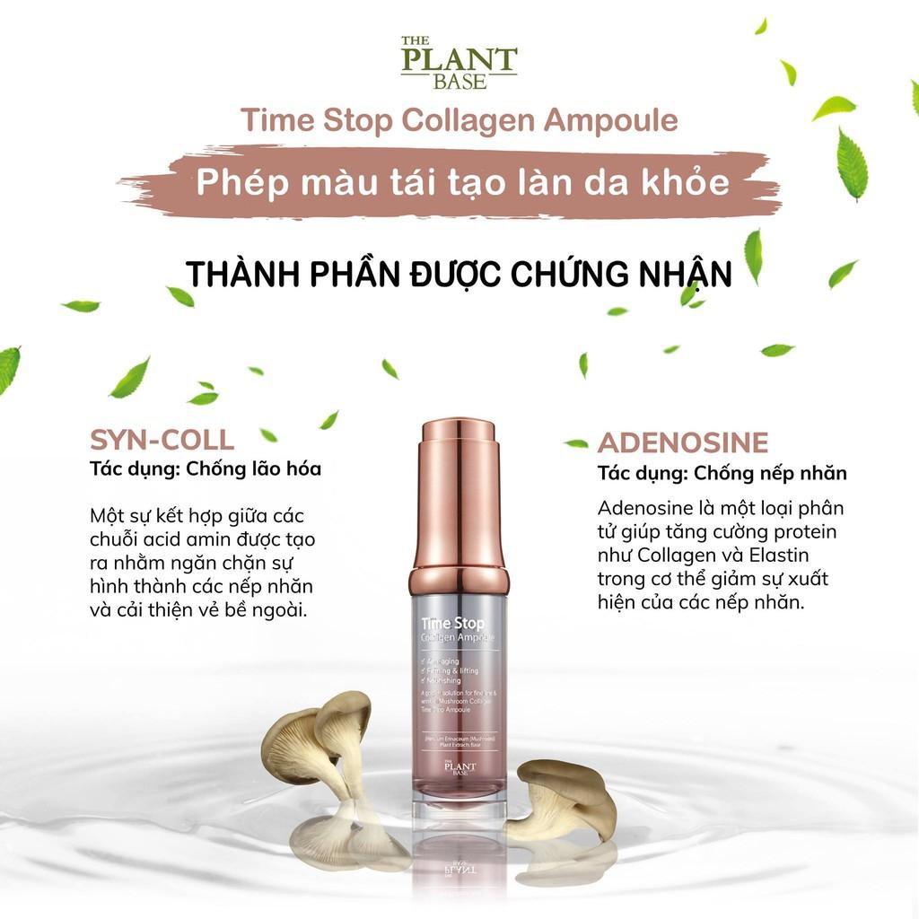 SERUM TIME STOP CHỐNG LÃO HOÁ, NGỪA NẾP NHĂN - THE PLANT BASE | Shopee Việt  Nam