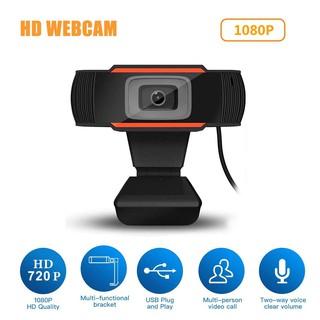 Webcam Kỹ Thuật Số 3 Bóng Đèn Led 1080p 30 Mega Hỗ Trợ Tầm Nhìn Ban Đêm Cho Pc Laptop Notebook thumbnail