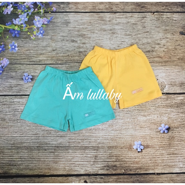 Quần đùi bé trai/ bé gái lullaby xanh vàng - 2882383 , 885804725 , 322_885804725 , 29000 , Quan-dui-be-trai-be-gai-lullaby-xanh-vang-322_885804725 , shopee.vn , Quần đùi bé trai/ bé gái lullaby xanh vàng