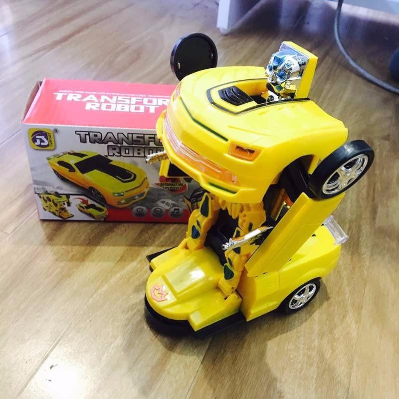 Đồ chơi Ô tô biến hình robot Transformer No.8986 VÀNG