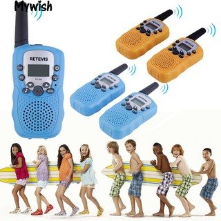 🏆2Pcs Kids Handheld Walkie Talkies Outdoor Children Game 2-Way Radio New Toy