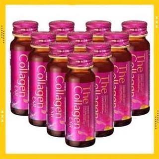 Nước uống The collagen shiseido dạng nước uống hộp 10 lọ 50ml, trẻ hóa làn da, căng min da [HÀNG NHẬT CHUẨN]