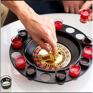Game vòng xoay rượu – Roulette drinking game