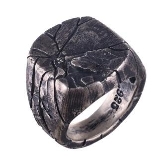 Nhẫn kim loại phong cách nghệ thuật cỡ 7-14