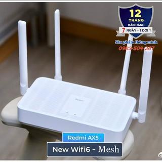 Bộ Router Wifi Xiaomi Redmi AX5 AX1800 hỗ trợ – Wifi 6 – Mesh – 128 thiết bị