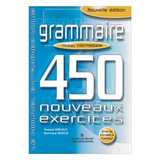 Sách - 450 Grammaire Niveau Intermédiare