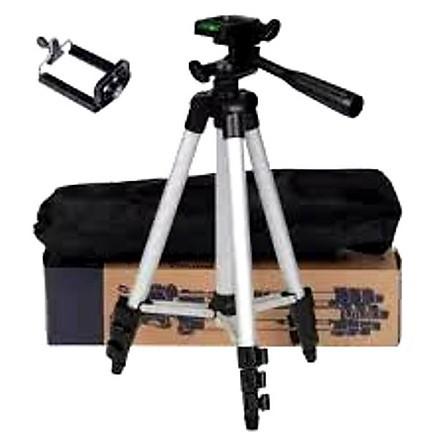 Tripod giá đỡ điện thoại máy ảnh livestream có remote mini xịn giá rẻ nhất 3110 3 chân - Lala17