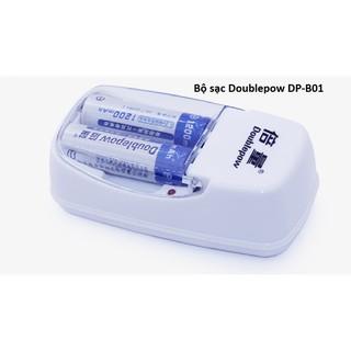 [Mã ELFLASH5 giảm 20K đơn 50K] Combo sạc pin đa năng Doublepow DP-B01 và 2pin Doublepow AA 1200mAh