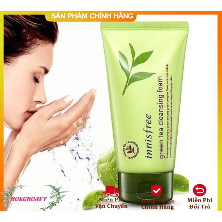 Sữa Rửa Mặt Trà Xanh Innifree Green Tea Cleansing Foam Size Lớn 150ml DATE mới