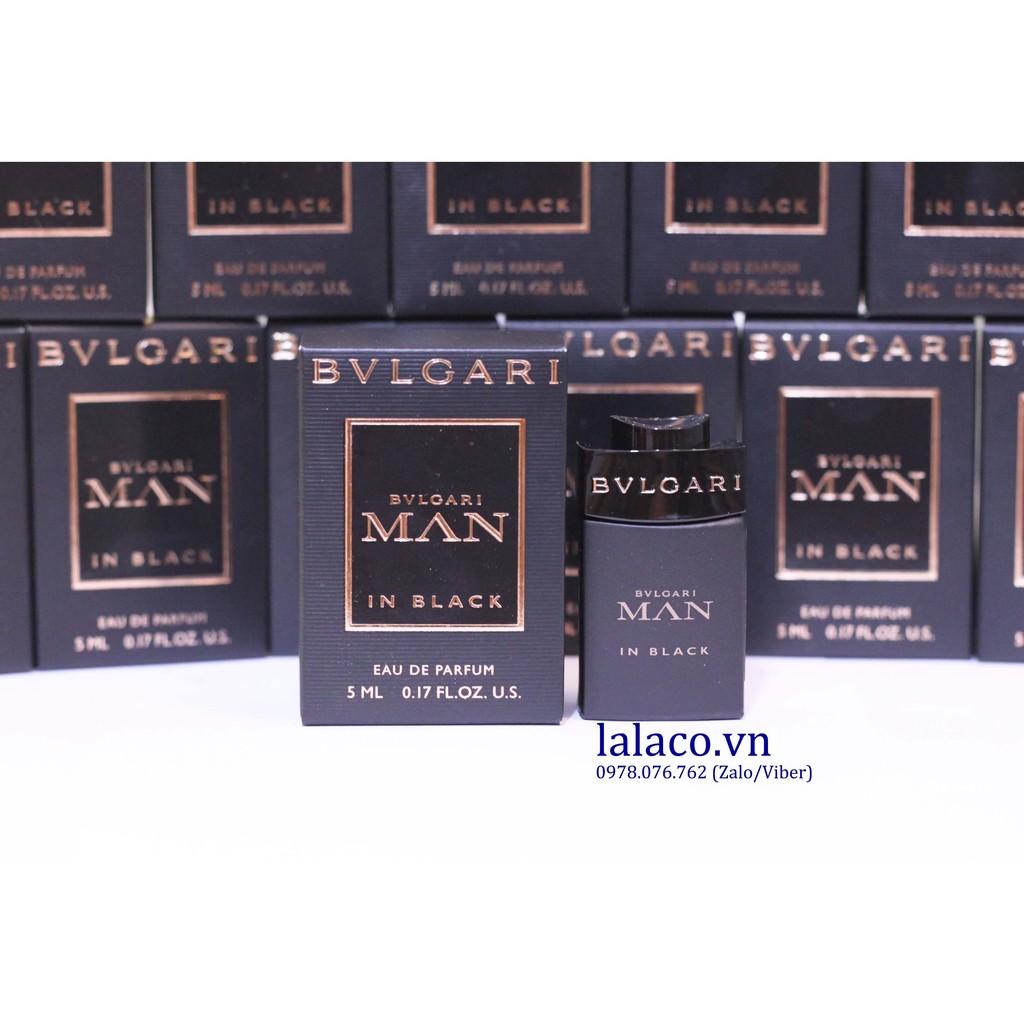 Nước hoa mini Nam Bvlgari Man In Black 5ml