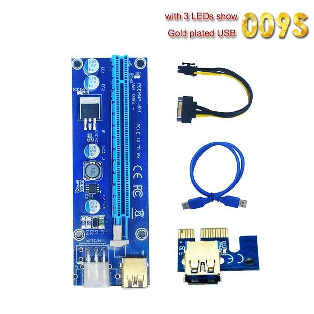 5 dây riser 009s led hàng cực tốt