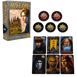 Classical Board Game-Avalon English Version Party Game Toys Family Party Card Games Ready Stock