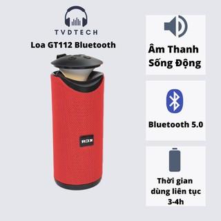 Loa Bluetooth GT 112 V5.0 không dây PB 2021 Đèn Led Bass Cực Đỉnh Tvdtech thumbnail