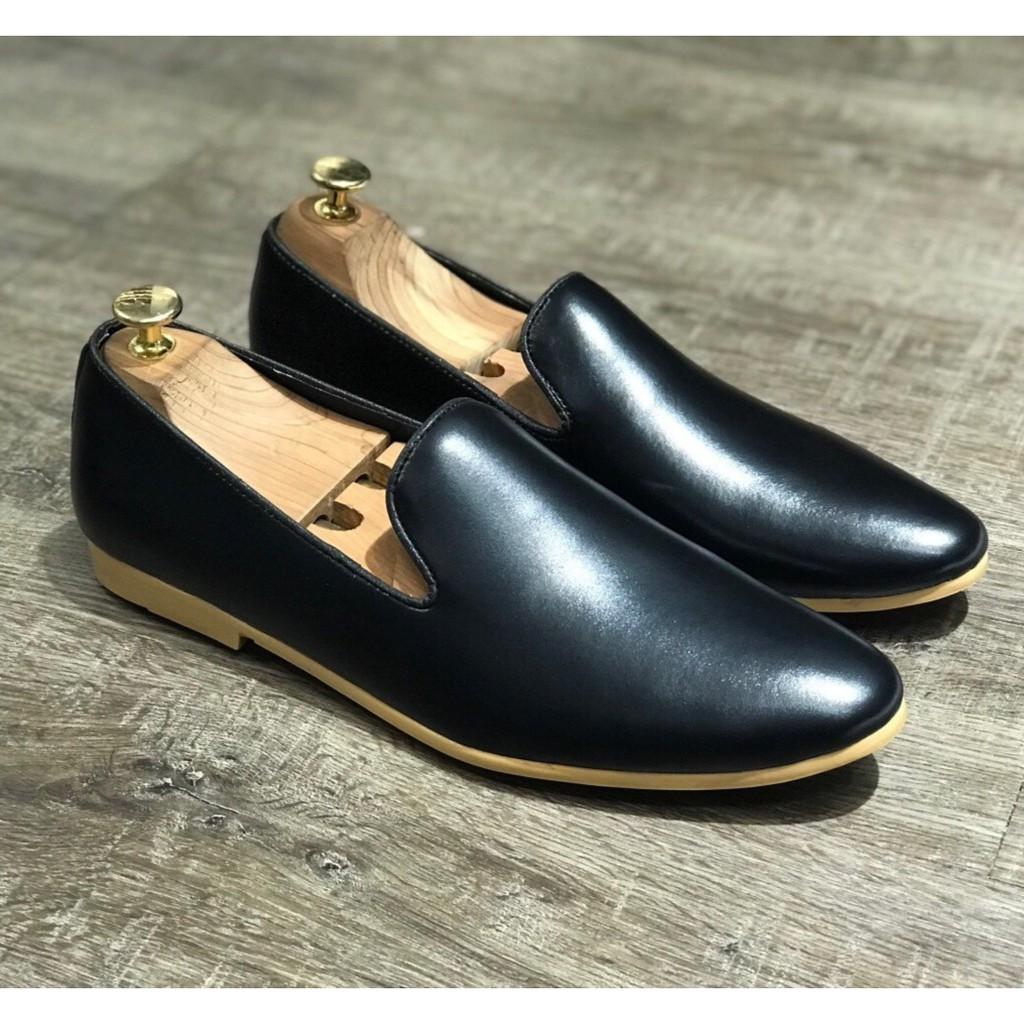 [SIÊU SALE] Giày Tây Nam Trơn/Chuông Đế Vàng Lịch Lãm