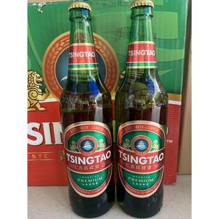 Thùng 12 chai Bia Tsingtao 640ml