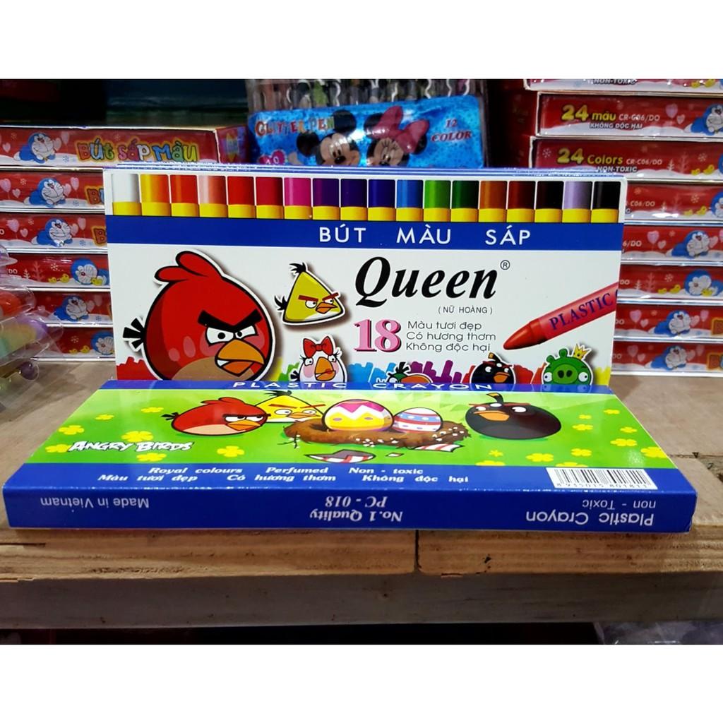 Sáp màu Queen (18 màu) - 9978839 , 1215607809 , 322_1215607809 , 23000 , Sap-mau-Queen-18-mau-322_1215607809 , shopee.vn , Sáp màu Queen (18 màu)