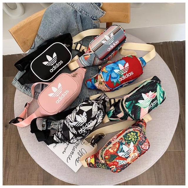 Túi bao tử Adidas Hoa