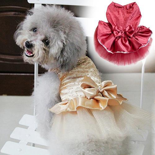 Đầm xòe công chúa dễ thương cho thú cưng