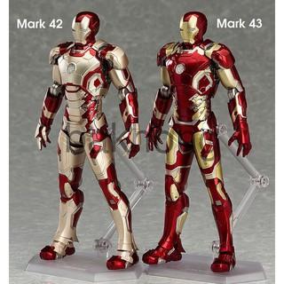 [SALE SỐC] Mô Hình Người Sắt Iron Man Mark 42 Mark 43 Phong Cách SHF – S.H. Figuarts Full Box bakhong