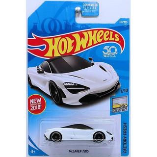 Xe mô hình Hot Wheels McLaren 720S FJY19