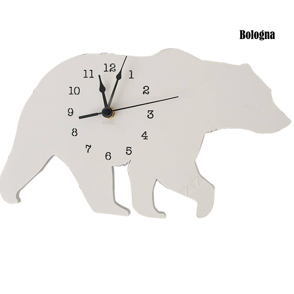 Đồng Hồ Treo Tường Hình Chú Gấu Bắc Cực