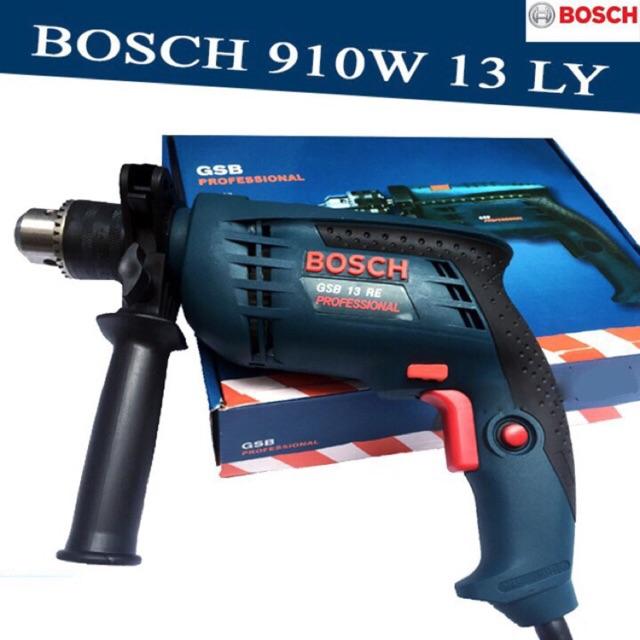 Máy khoan tường bê tông, khoan sắt, khoan gỗ 13 ly Bosch