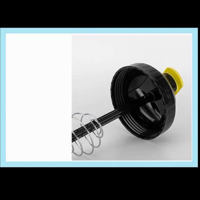 Bình nước tập gym bình thể thao Super Hero Shake Bottle
