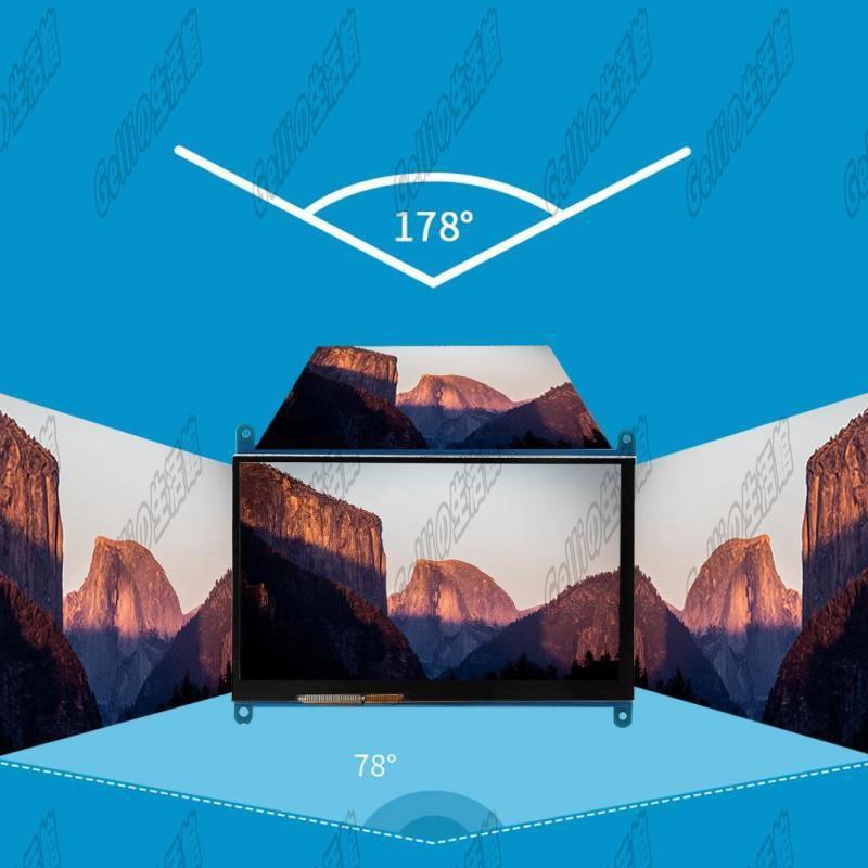 Chính Hãng Siêu rẻ Ngõ hình LCD 7 inch HDMI 1024x600 full HD cảm ứng điện năng cho Raspberry Pi