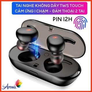 Tai Nghe Bluetooth 5.0 TWS T2C - Cảm Ứng 1 Chạm - Chống Nước IPX5 - Pin 12h - Đàm Thoại 2 tai - Tự Kết Nối