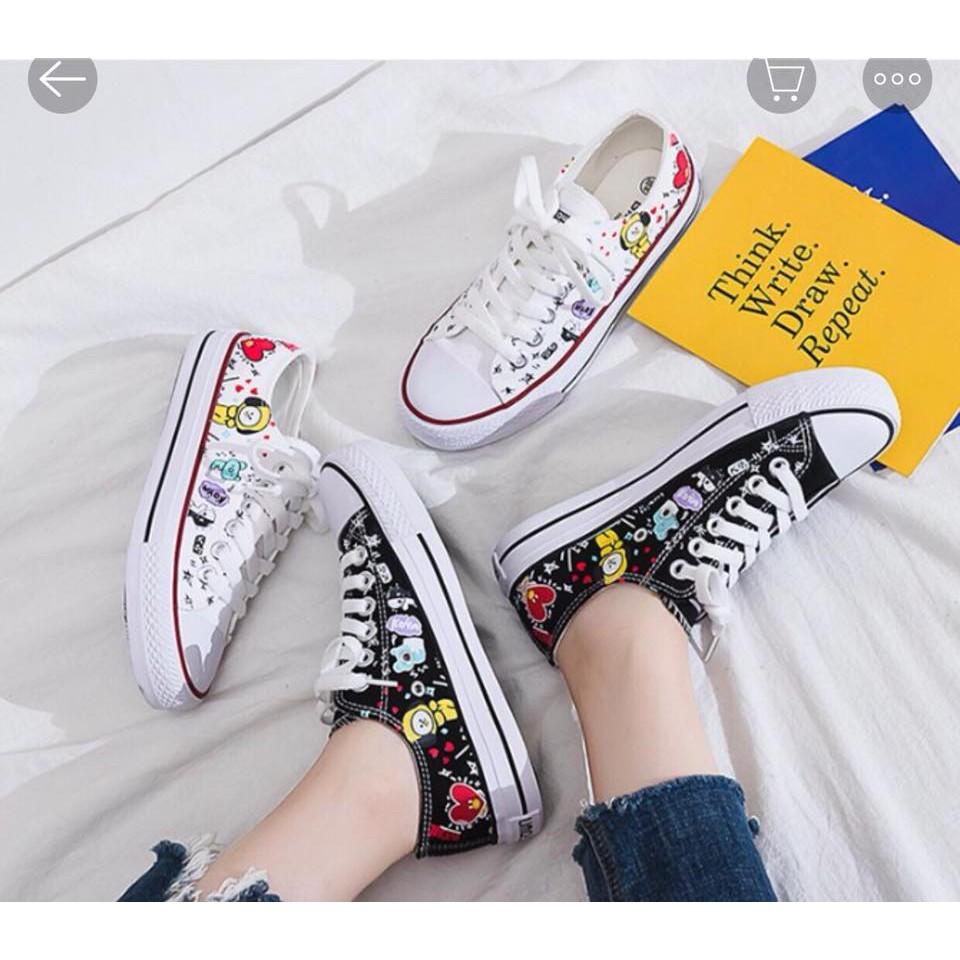 Giày hình BT21