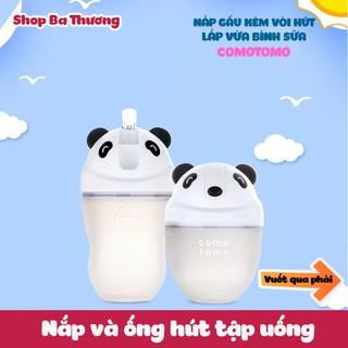 Nắp và Ống Hút Tập Uống Cho Bình sữa Comotomo