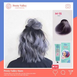 Thuốc nhuộm tóc ⚜️ FREESHIP ⚜️ Thuốc nhuộm tóc màu khói Molokai 60ml – [ TẶNG KÈM OXY TRỢ DƯỠNG + GĂNG TAY ]