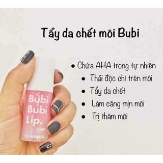 Tẩy Tế Bào Chết Môi Sủi Bọt Bubi Bubi Lip By Unpa 12ml