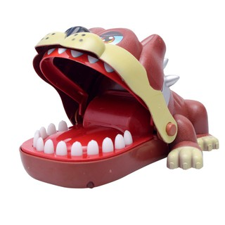 Creative Funny Dog Biting the Fingers Game Tricky Toy